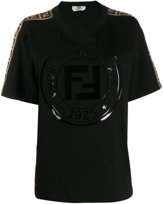 Fendi printed stamp T-shirt