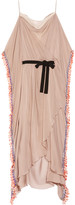 Matthew Williamson Hand-embellished silk-chiffon gown
