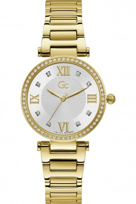 Gc Ladies Ladycrystal Watch Y64003L1MF