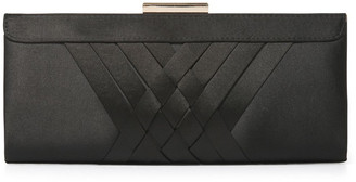 Forever New Fiona Frame Satin Clutch