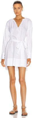 ASCENO The Santorini Dress in White | FWRD