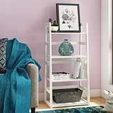 Andover Mills Rumi Standard Bookcase Color: White