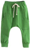 Verypoppa Baby Boys Girls Hip-Hop Big Pocket Casual Harem Pants Trousers