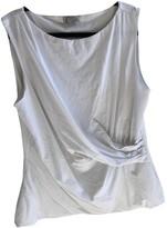 Hobbs White Cotton Top for Women