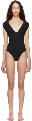 WARD WHILLAS Reversible Black Harlow One-Piece Swimsuit