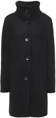 DKNY Wool-blend Boucle Coat