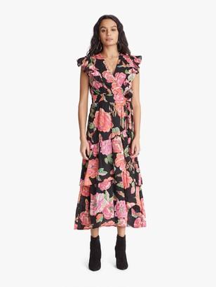 Banjanan Carra Dress - Eliza's Rose Garden Black