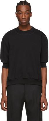 Random Identities Black Side Zip Sweatshirt