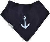 Black & Blue Anchors Away Bandanna Bib