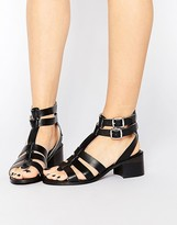 Park Lane Gladiator Leather Heeled Sandals