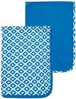 """Yoga Sprout """"Square Print"""" 2-Pack Receiving Blankets"""