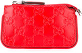 Gucci signature key case - women - Leather - One Size
