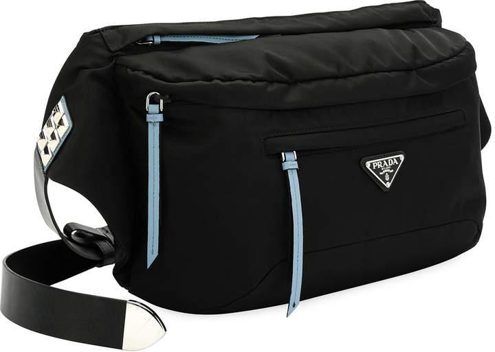 10ad3a1d89f8 Prada Nylon Vela Bag - ShopStyle