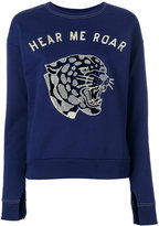 Zoe Karssen Hear Me Roar sweatshirt - women - Cotton - M