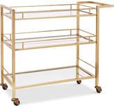 Martha Stewart Collection Gold Bar Cart