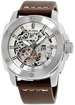 Fossil Modern Machine ME3083 Stainless Steel 50mm Automatic Mens Watch