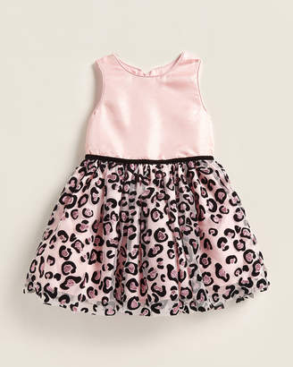 Pippa Pastourelle By & Julie (Toddler Girls) Sequin Leopard Tulle Dress