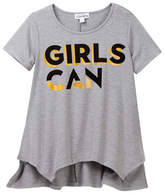 Ten Sixty Sherman Split Handkerchief Hem Girls Can Tee (Big Girls)