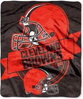 Northwest Company Cleveland Browns Micro Raschel 12th Man Throw Blanket