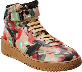 Valentino Leather Sneaker