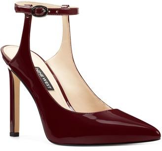 Nine West Leather Stiletto Pumps - Tamara