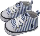 Ralph Lauren Boys' 27298S Babies' Striped Sneaker