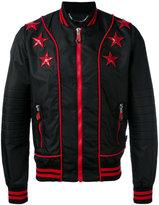 Philipp Plein My Last bomber jacket - men - Cotton/Polyamide/Spandex/Elastane - L