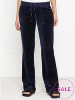 Juicy Couture Track Velour Del Ray Sweatpant