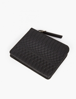 Paul Smith Black No.9 Embossed Leather Wallet
