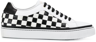 Paul Smith Basso checked sneakers
