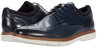 Stacy Adams Synergy Wing Tip Oxford (Black) Men's Shoes