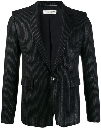 Saint Laurent Tailored Pinstripe Blazer