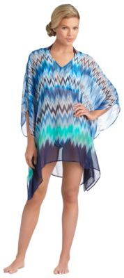 Vince Camuto Zigzag Tunic Swim Cover-Up