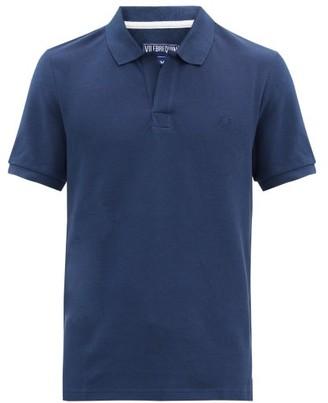 Vilebrequin Palatin Cotton-pique Polo Shirt - Mens - Navy