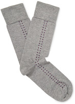 John Smedley Holden Sea Island Cotton-blend Socks