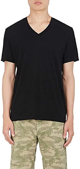 James Perse Men's Cotton Jersey V-Neck T-Shirt - Black