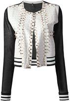Aviu studded leather jacket