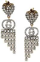 Gucci crystal hanging earrings