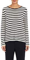 Nili Lotan Women's Julia Striped Lightweight Cashmere Sweater
