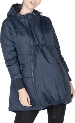 Modern Eternity 3-in-1 Hooded Maternity Puffer Jacket