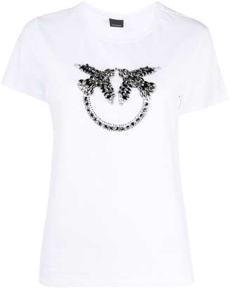Pinko Quentin crystal-embellished T-shirt