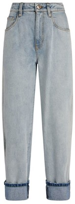 Brunello Cucinelli Cotton Straight Jeans