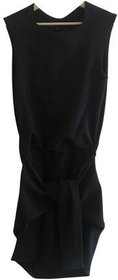 Theyskens' Theory Black Wool Dress for Women