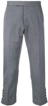 Thom Browne Slim-fit Mid-rise Trouser