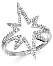 Bloomingdale's Diamond Starburst Ring in 14K White Gold, 0.30 ct. t.w. - 100% Exclusive