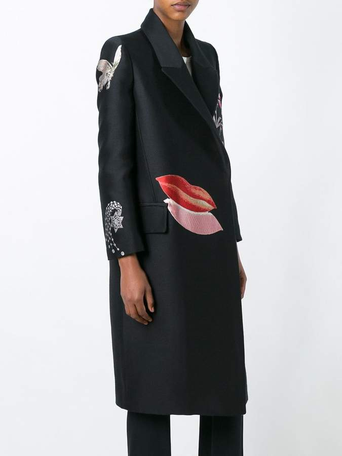 Alexander McQueen Vanity Obsession oversized coat