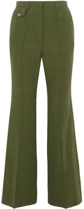 Golden Goose Agata Linen Flared Pants