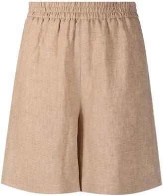 Fabiana Filippi Elasticated-Waist Slip-On Shorts