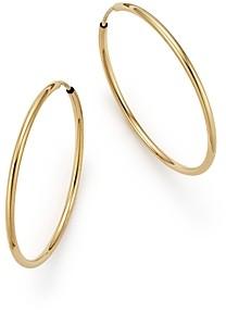 Bloomingdale's 14K Gold Endless Hoop Earrings - 100% Exclusive