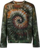 Valentino 'Tie&Dye' sweatshirt